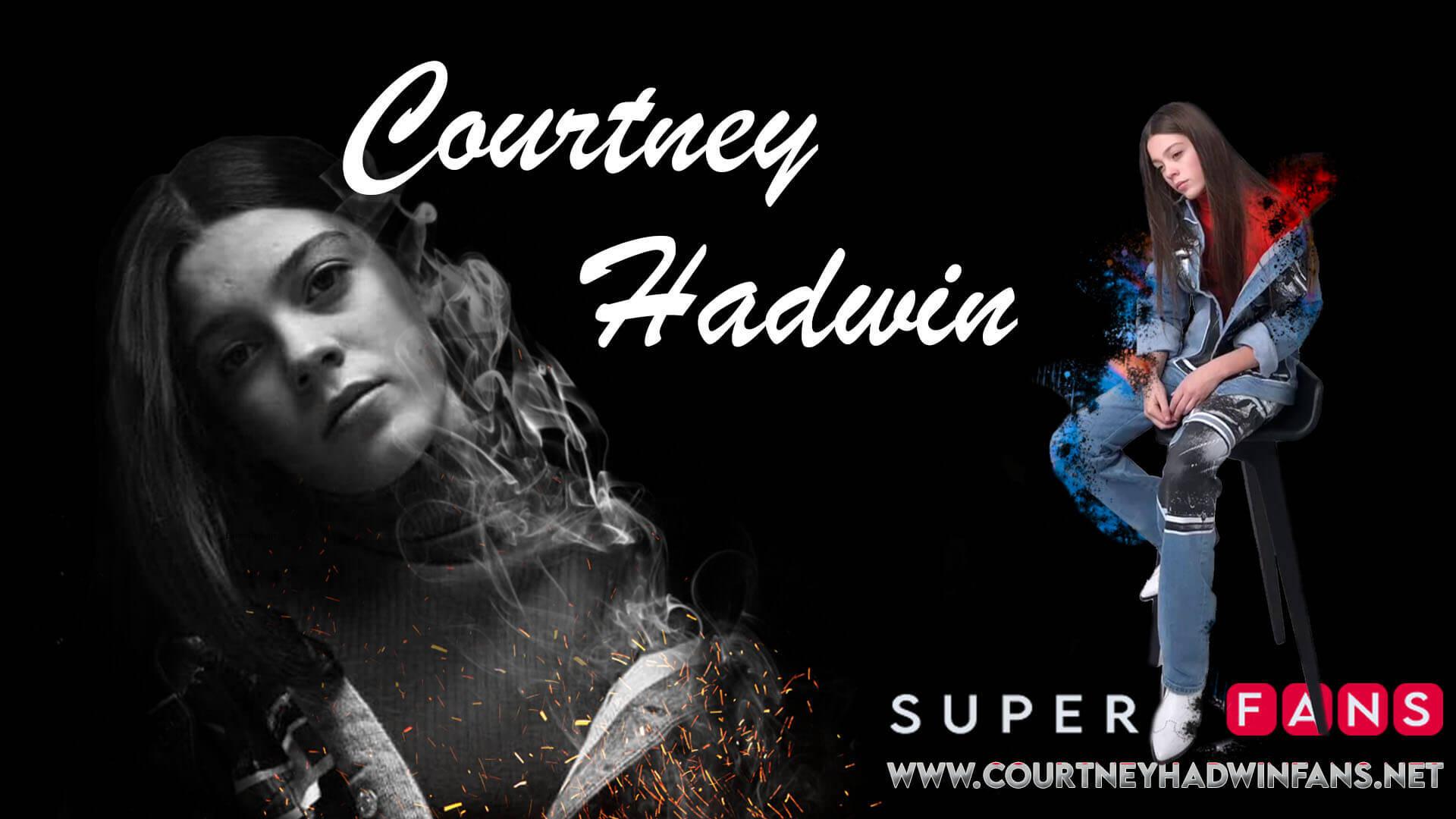 COURTNEY HADWIN FAN CLUB COVER